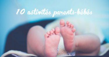activités parents-bébés