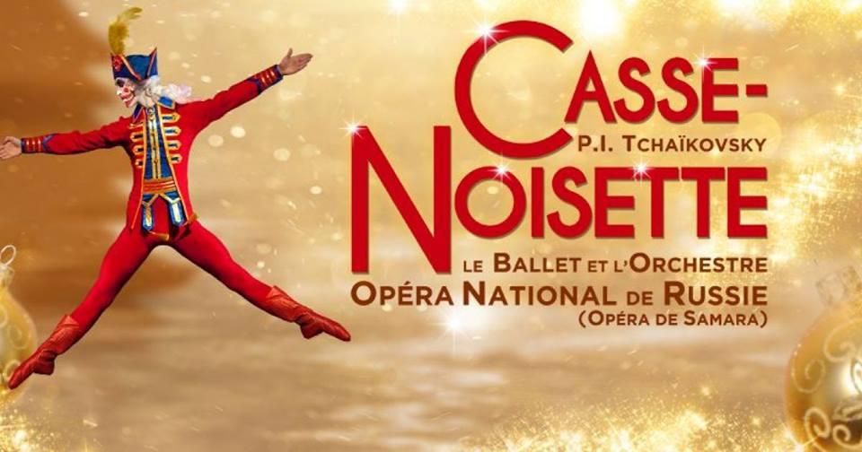 Casse-Noisette par la compagnie de l'Opéra de Russie