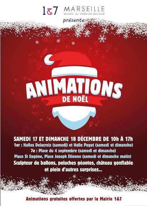 Animations de Noël des 1er et 7ème arrondissements