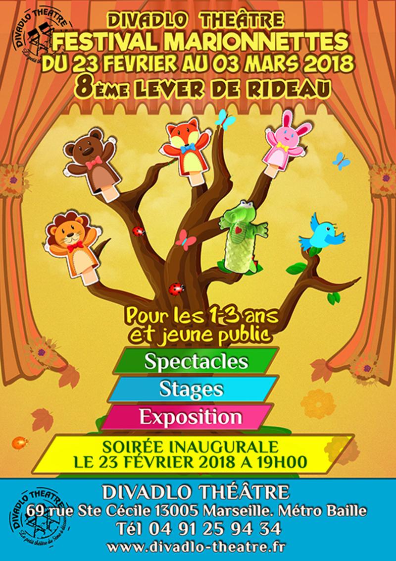 Lever de rideau, le festival de marionnettes du Divadlo