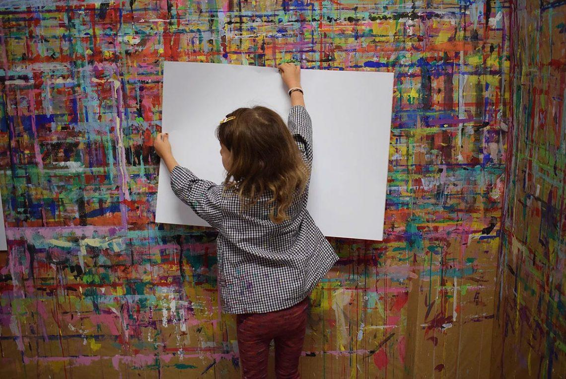 Stage au Chouette atelier : peinture, yoga et couture