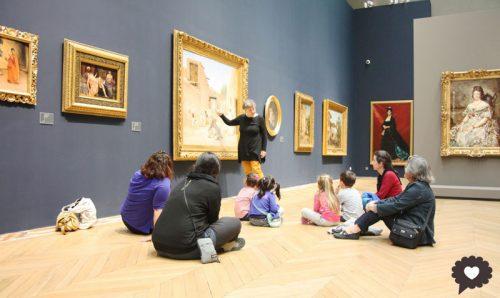 Chasse aux tableaux au Musée des Beaux Arts