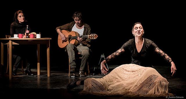 Conte flamenco au Parvis des Arts
