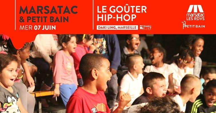Le Goûter Hip-Hop par Marsatac : on vous invite !
