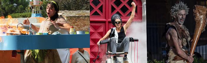 Dimanche 12 mai Tendance Clown au Parc de Bagatelle