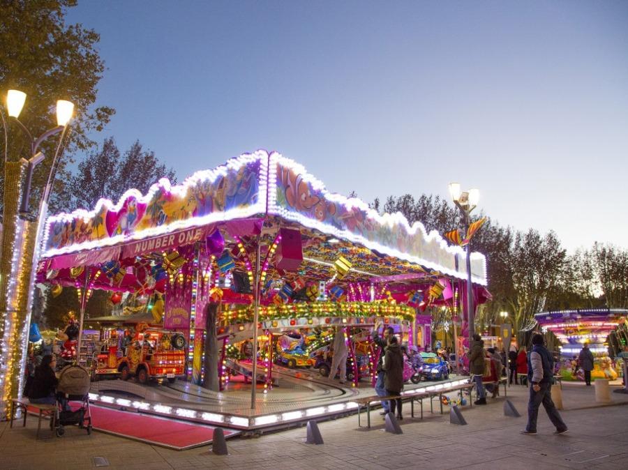 Manèges de Noël à Aix en Provence