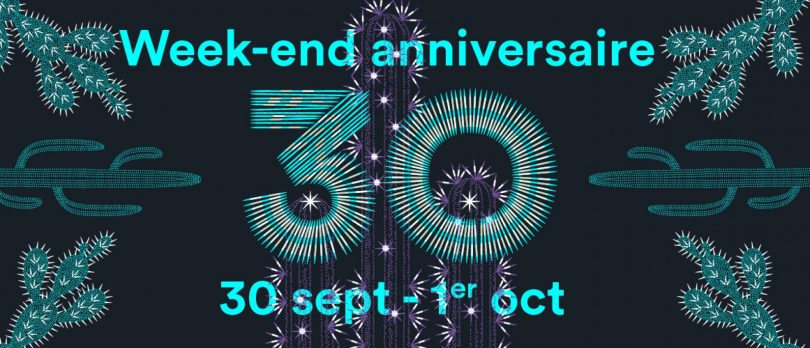 Week-end anniversaire : le Théâtre Massalia fête ses 30 ans