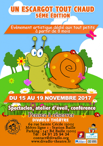 Festival un escargot tout chaud du Divadlo Théâtre