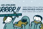Ateliers GRRRR!! pour les vacances à la librairie Pantagruel