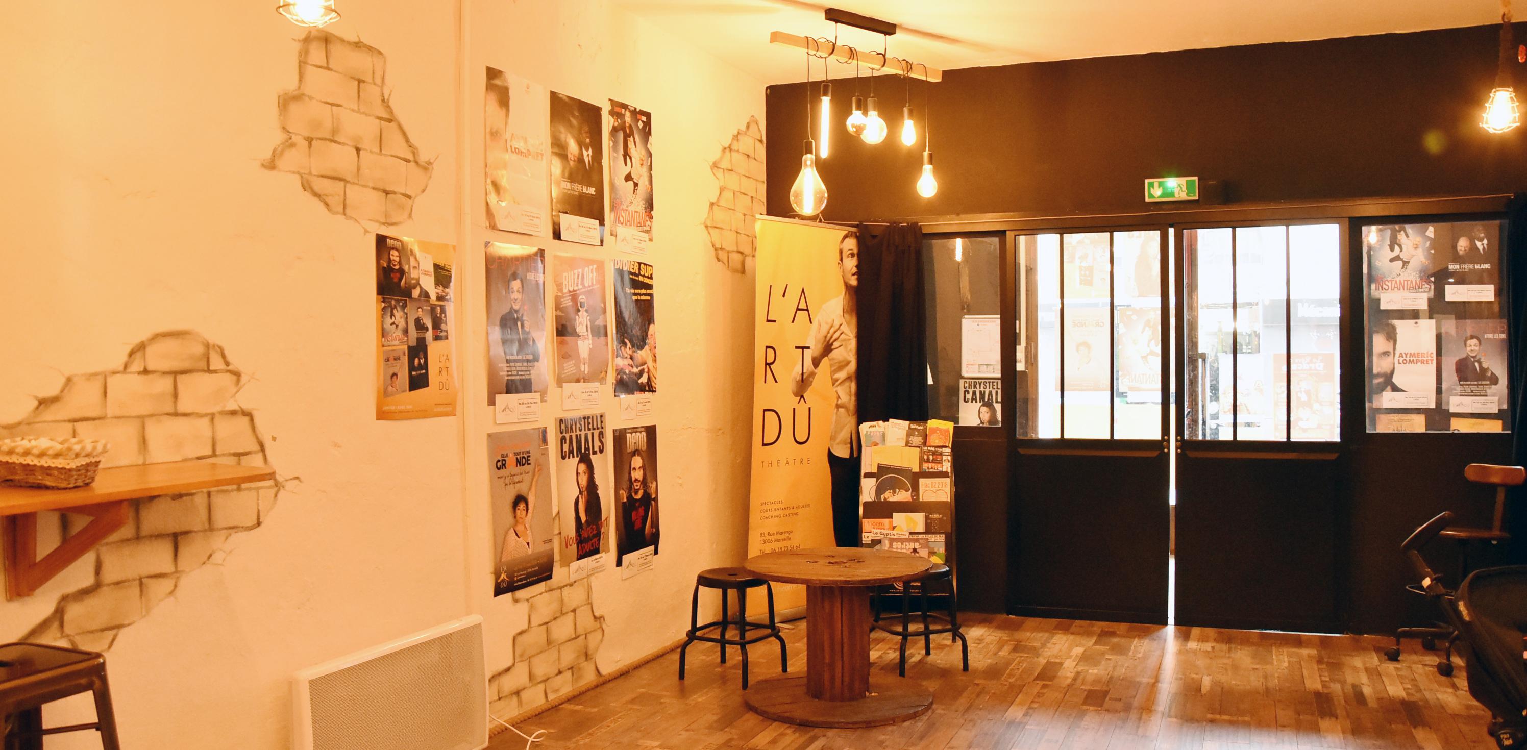L'Art Dû théâtre, découverte du nouveau théâtre marseillais