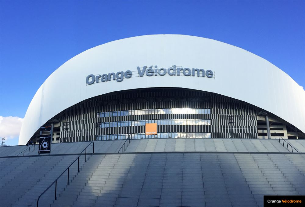 Visite guidée de l'Orange Vélodrome