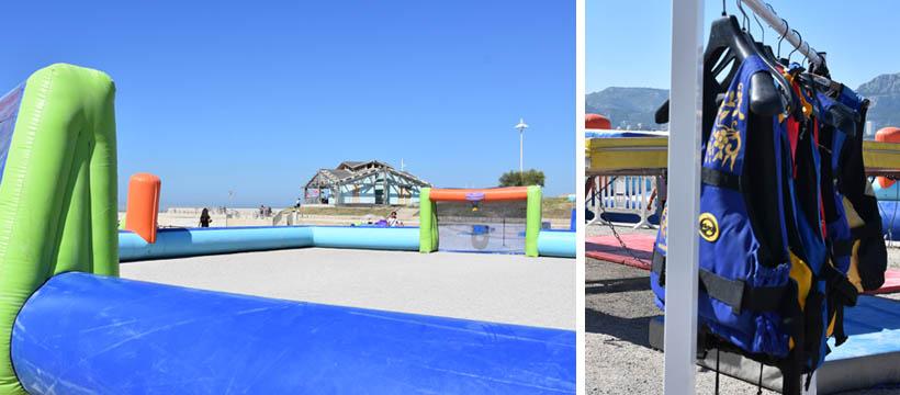 Des activités pour les enfants sur la plage à Marseille