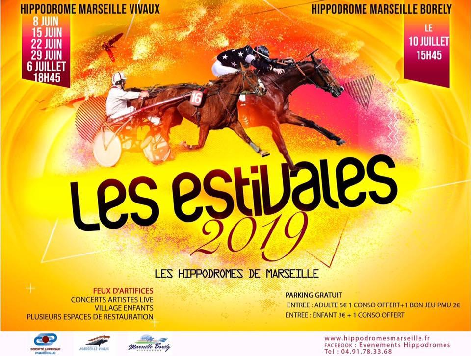 Les estivales 2019, Hippodrome, Marseille