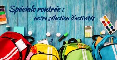 Spéciale rentrée 2018 : notre sélection d'activités à Marseille