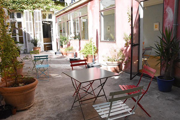 1,2,3 Solène salon de thé terrasse Marseille