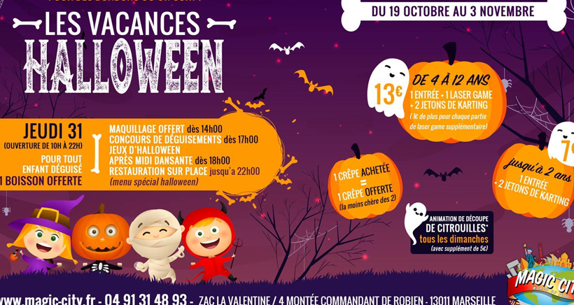 Où fêter Halloween à Marseille ?