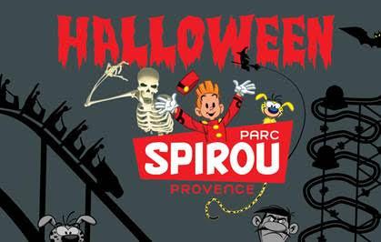 Halloween au Parc Spirou Provence