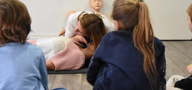 Ateliers Prévention, secourisme et jeux pour les enfants