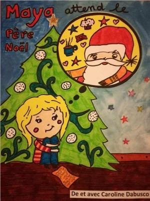 Maya attend le Père Noël