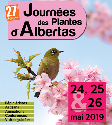 Journées des plantes d'Albertas à Bouc-Bel-Air