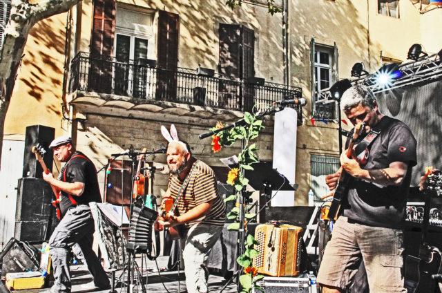 Concert rock enfant, festival Tralalère