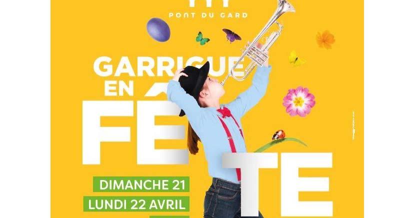 Garrigue en fête au Pont du Gard