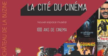 La Cité du Cinéma au Château de la Buzine