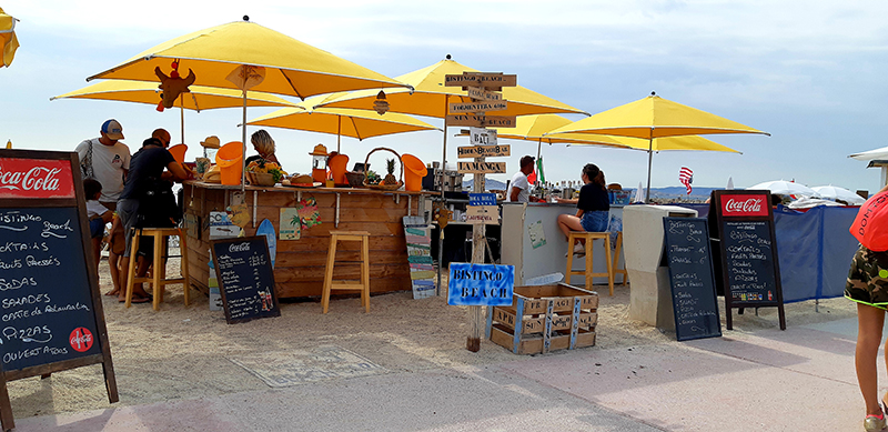 Restaurant de plage à Marseille