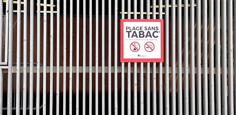 Plages à Marseille sans tabac