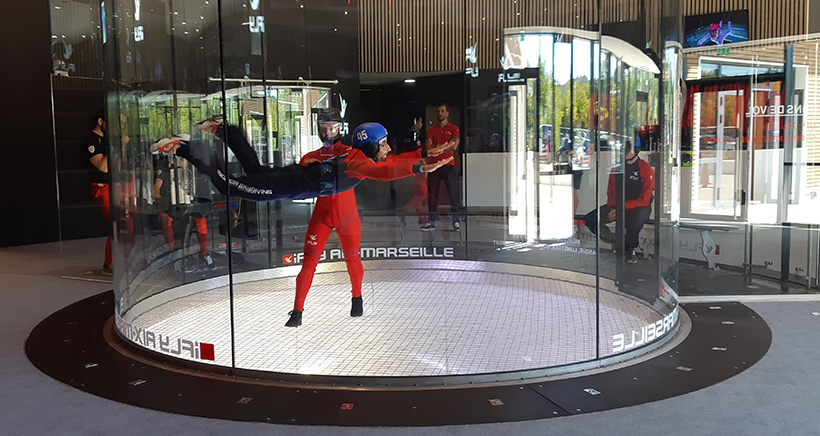 Ifly aix-marseille, chute libre indoor