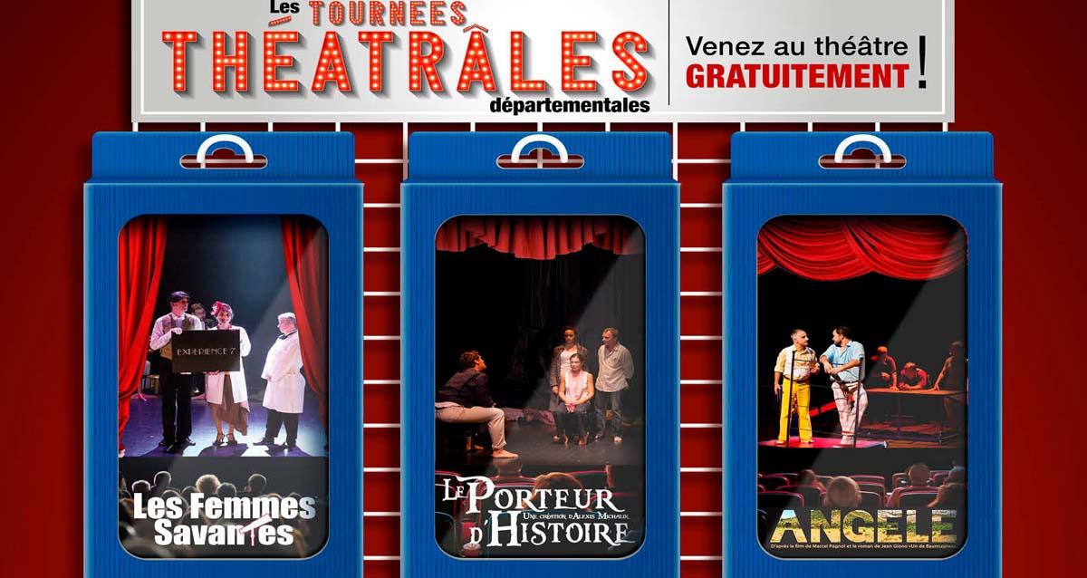 Bouches-du-Rhône: des Tournées théâtrales gratuites