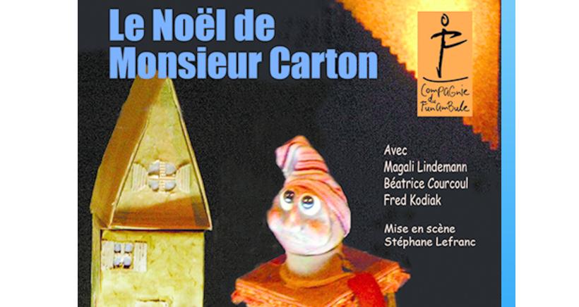 LE NOËL DE MONSIEUR CARTON