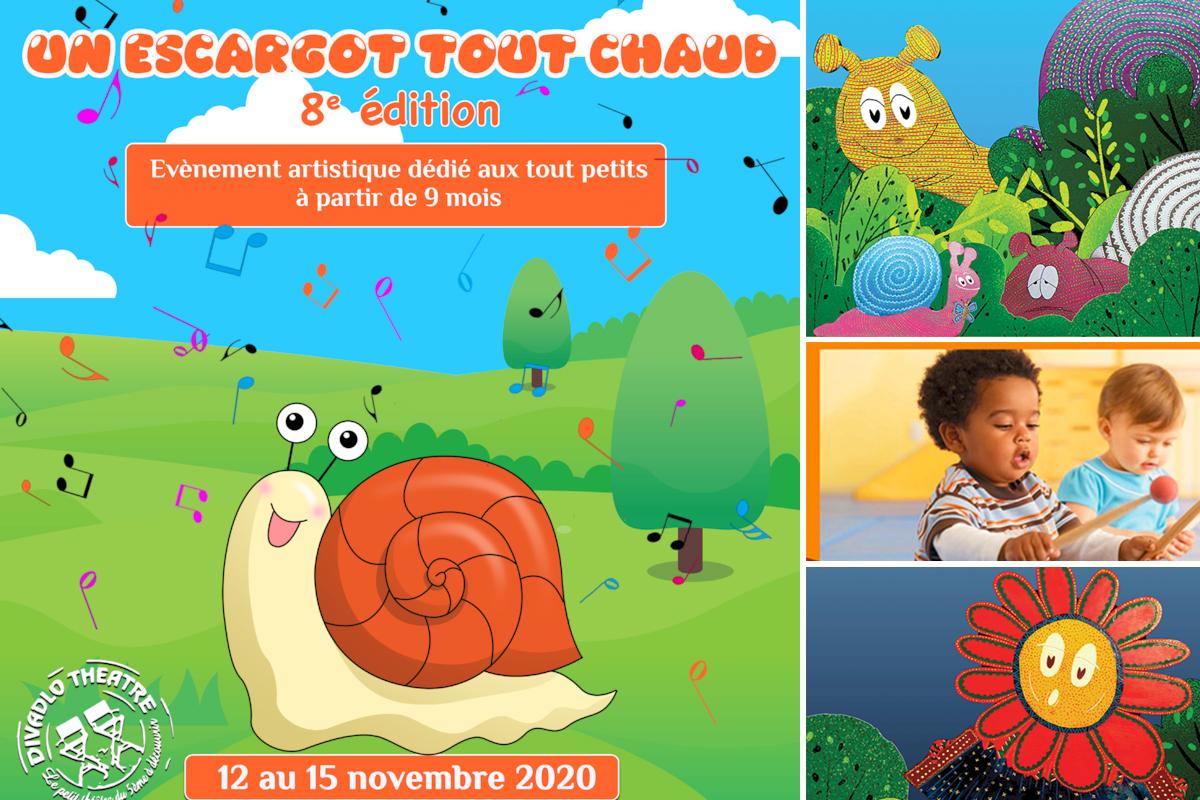Un escargot tout chaud, festival tout petits 2020