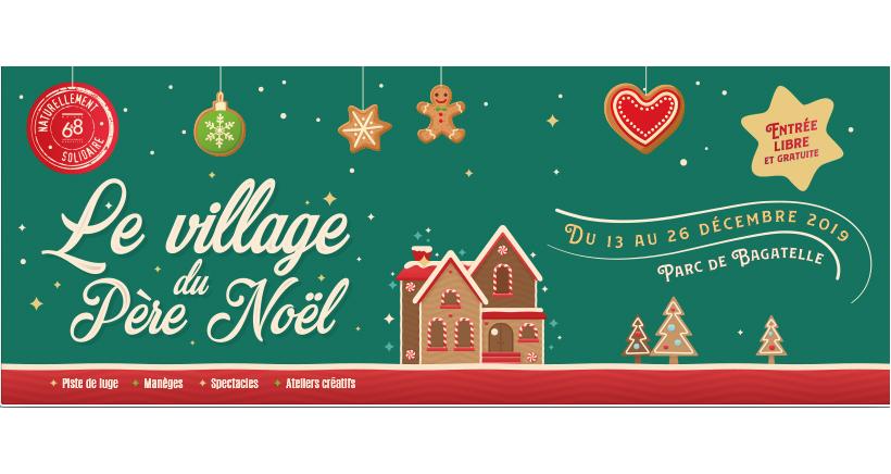 Village du Père Noël à Bagatelle