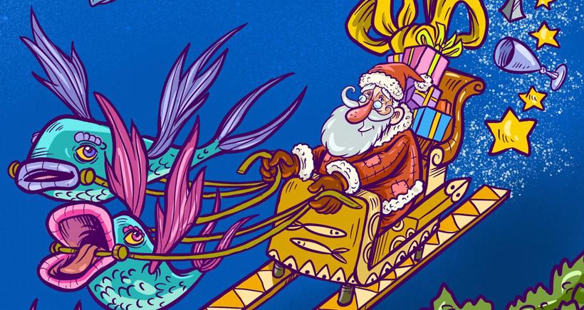Marché de Noël à l'Estaque