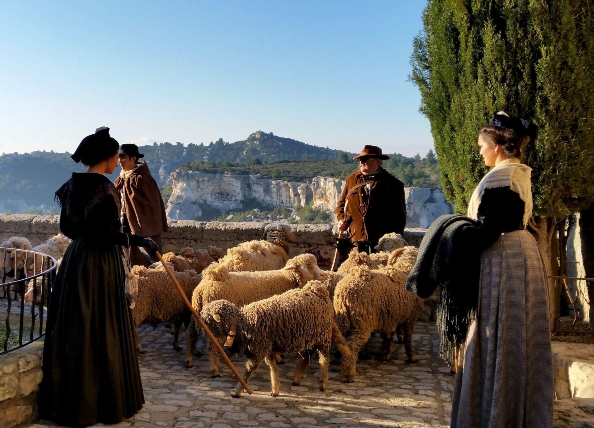 Escapade en famille: Noël aux Baux de Provence