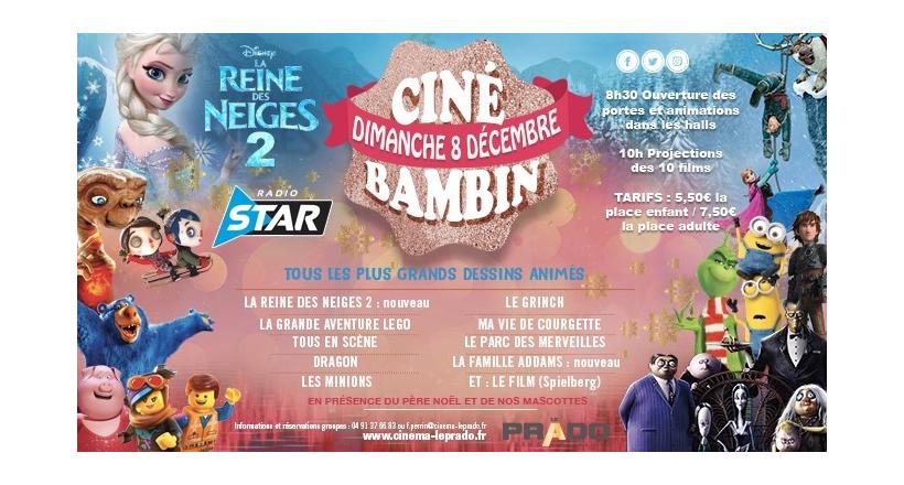 Cine Bambin Matinée pour les Enfants et la Famille