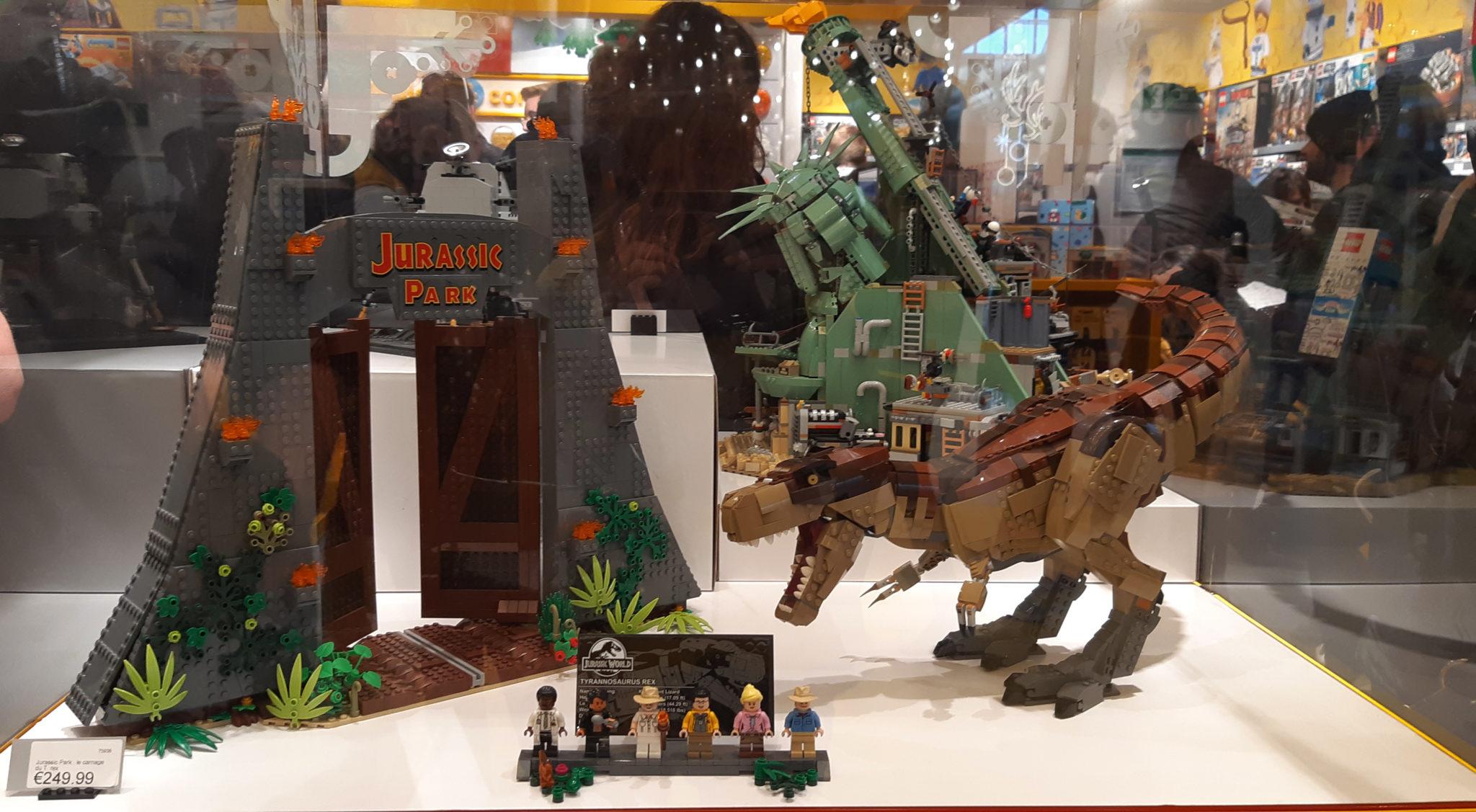 Lego store Marseille, jurassic park