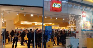 Lego store Marseille aux terrasses du port