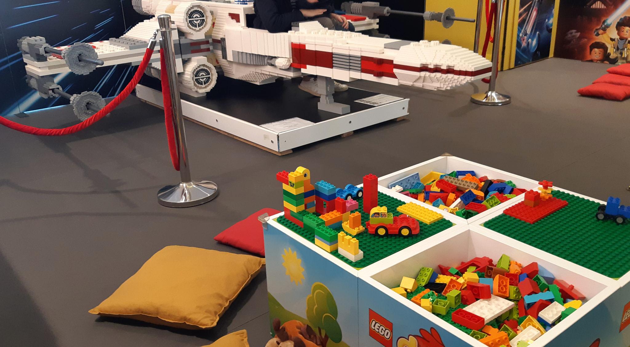 Lego store Marseille, animation star wars