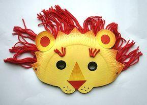 Atelier créatif masque Lion