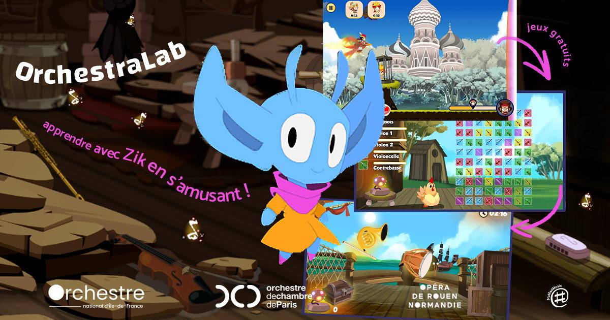 OrchestraLab LA plateforme web de jeux musicaux