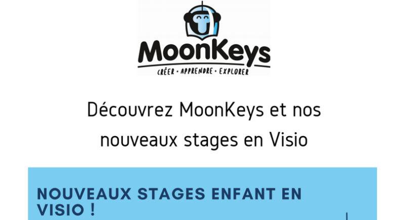 Des stages vacances en vision avec MoonKeys