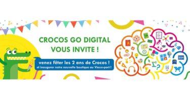 Inauguration boutique Crocos Go Digital
