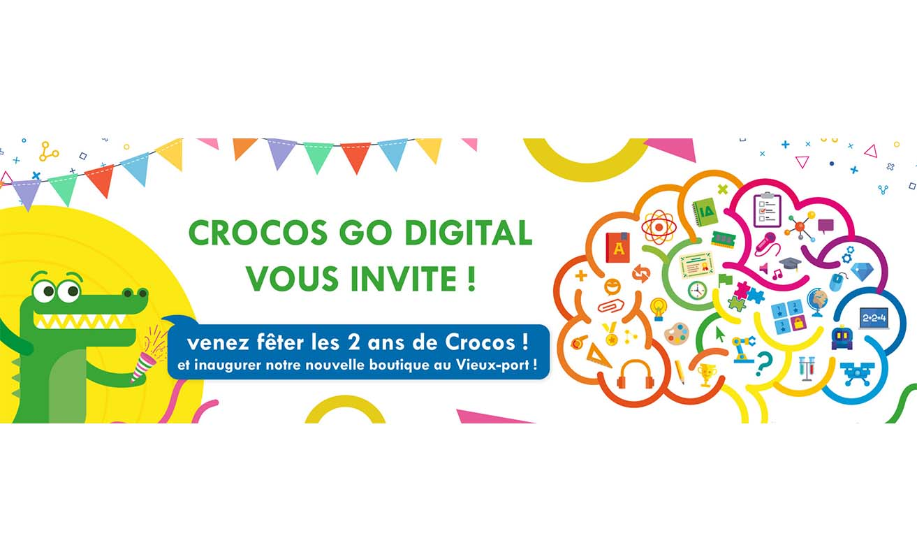 Inauguration boutique Crocos Go Digital