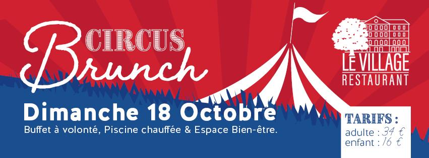 Brunch Circus Village Club du Soleil