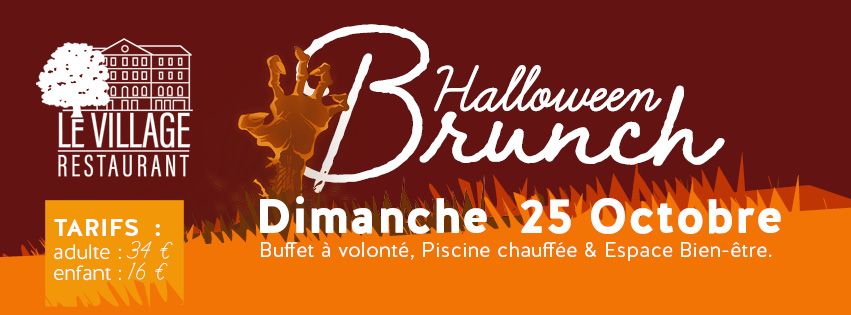 Brunch Halloween Village Club du Soleil