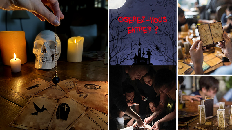 Escape Game Halloween Maison