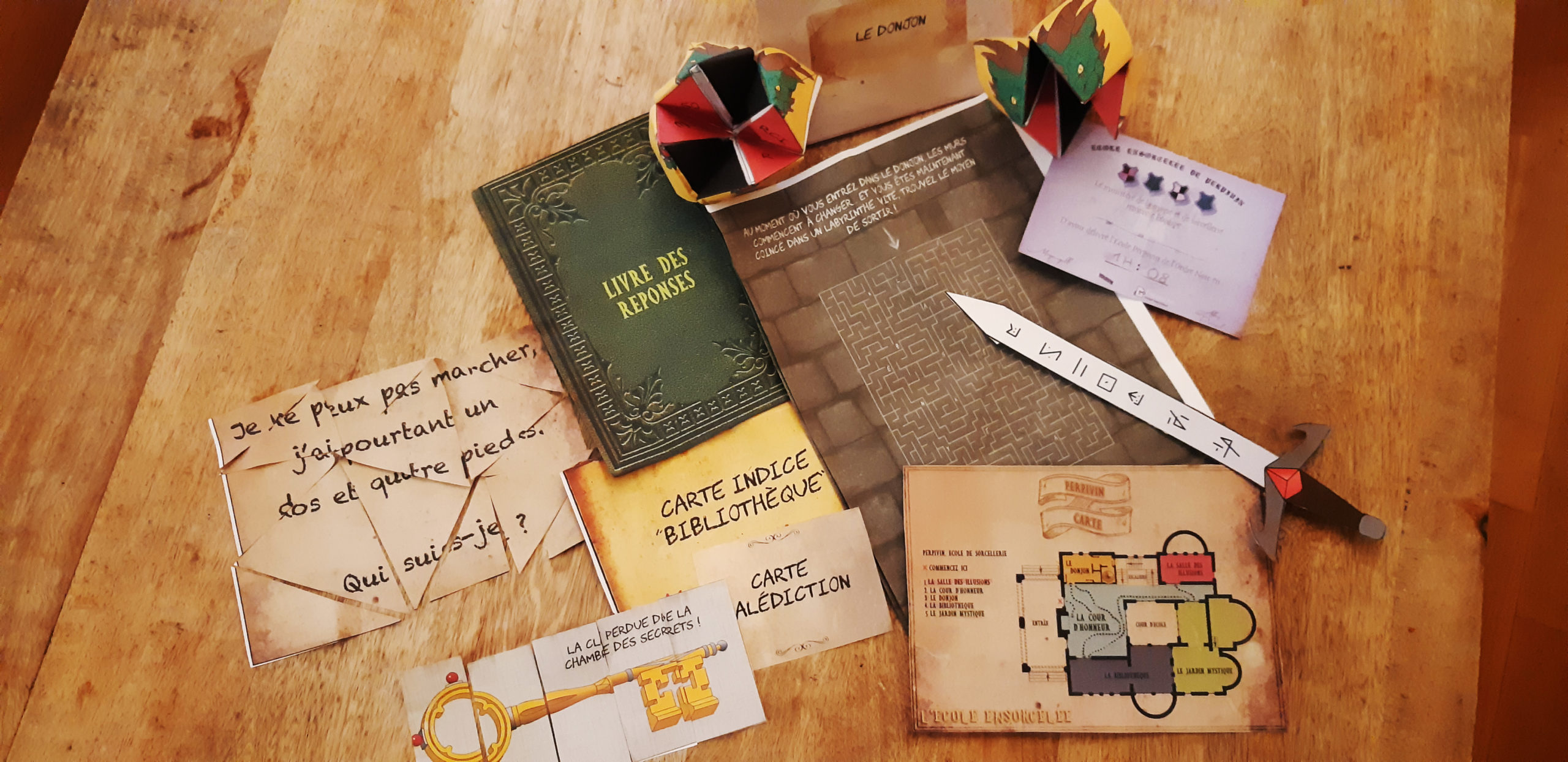 Escape Game avec Escape Kit