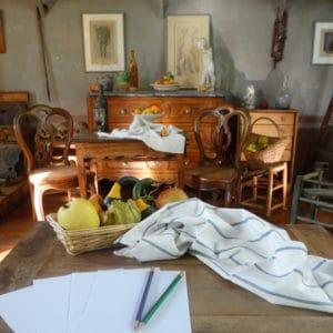 Visite sensorielle en famille à l'atelier de Cezanne